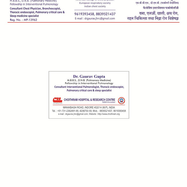 Choitham city clinic - Hospital in Indore