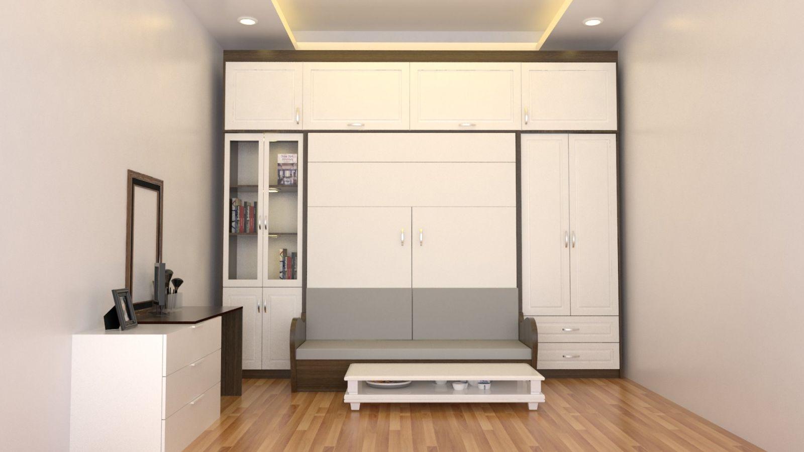 Giường tủ thông minh rất quan trọng cho không gian