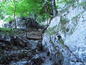 Photo: 15.Opuszczam teraz jaskinię i idę szlakiem na Tlstą.