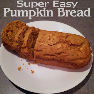 Super Easy Pumpkin Bread