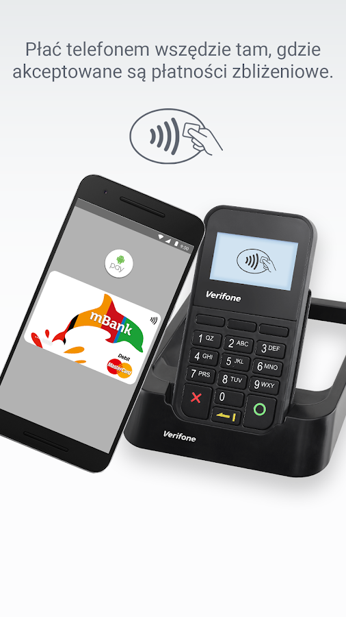 Android Pay – zrzut ekranu