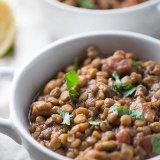 Slow Cooker Moroccan Lentil Soup