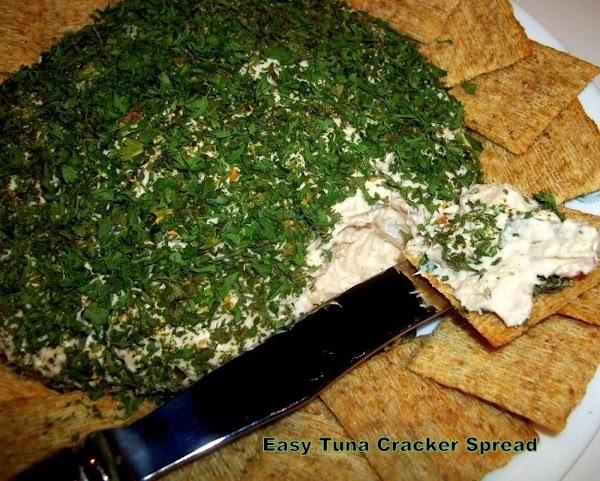~ Easy Tuna Cracker Spread ~ Recipe