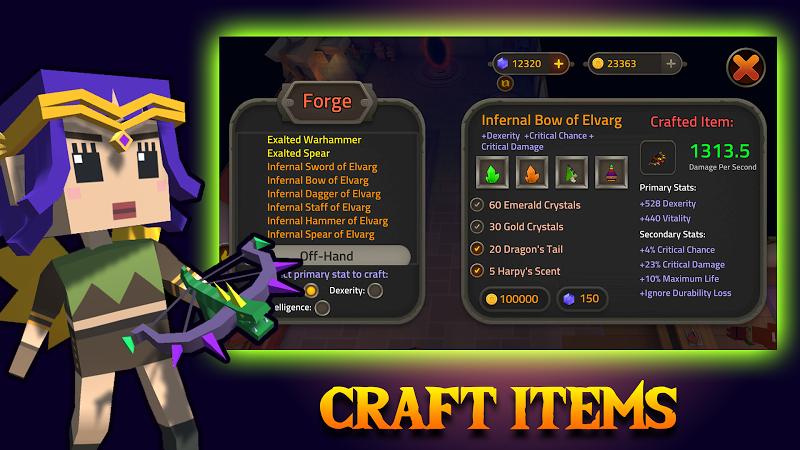 King of Raids: Magic Dungeons Screenshot 7