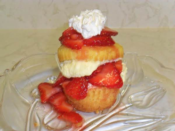 Mini Lemon Strawberry Shortcakes