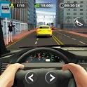 City Traffic Car Taxi Driving Rush icon