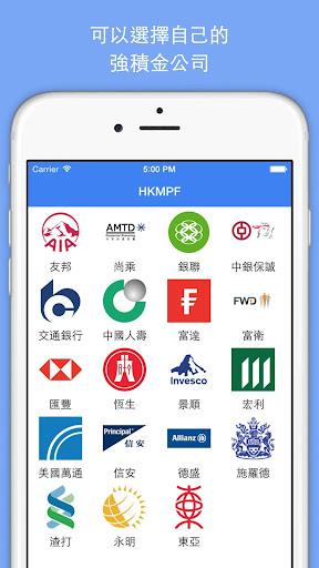 HKMPF 香港強積金