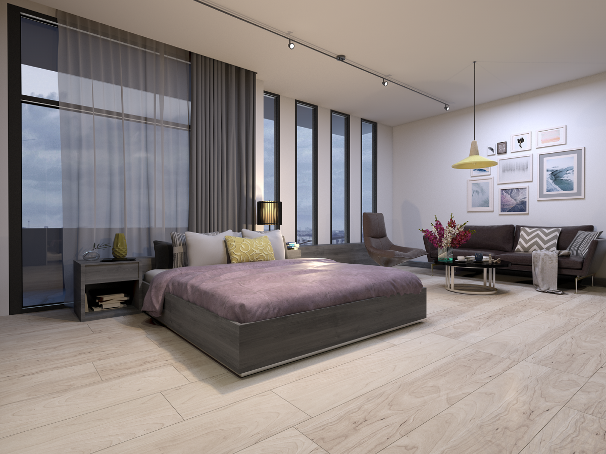 Thiết kế phòng ngủ chung cư diện tích lớn