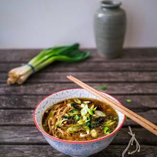 Enoki Mushroom Miso Soup Recipe