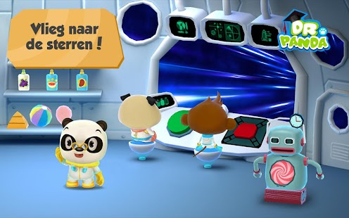 Dr. Panda in de Ruimte Screenshot
