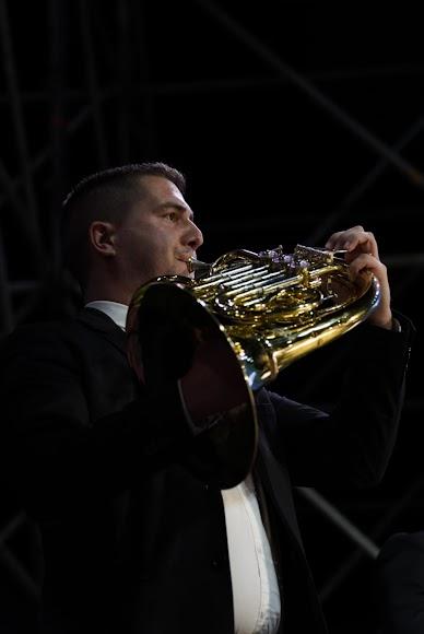 Uno de los músicos de la Orquesta Ciudad de Almería (OCAL).