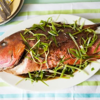 Asian-Style Roasted Whole Fish.