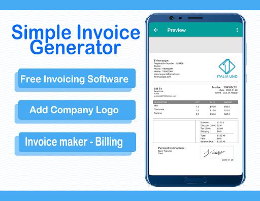 Download Simple Invoice Generator Free Invoicing Software Free For Android Simple Invoice Generator Free Invoicing Software Apk Download Steprimo Com