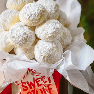 Almond Snowball Cookies.