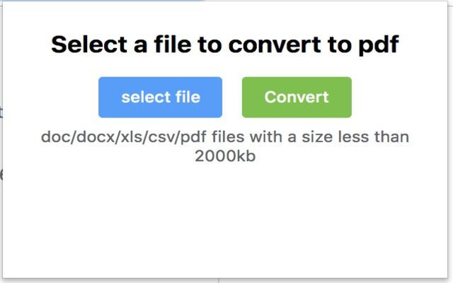 Fast Word/Excel/Image to PDF Converter