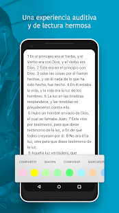 Biblia Reina Valera + Audio Gratis Screenshot