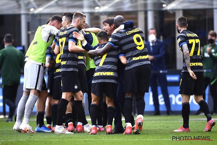 Serie A : sans Lukaku, l'Inter écrase la Sampdoria pour fêter son titre