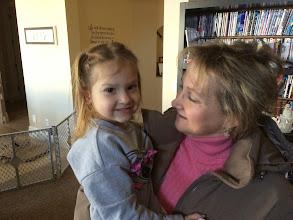 Photo: 12/23 Cari and Bridgette, her niece's daughter.