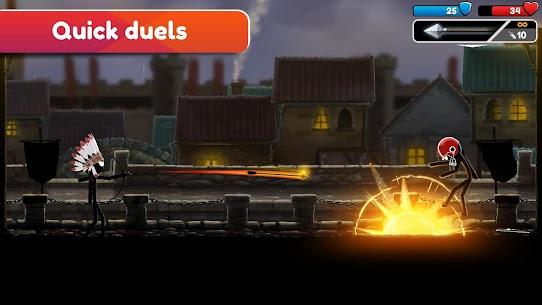 Stickman Archer Online MOD (Unlimited Gold/Gems/Exp) 3