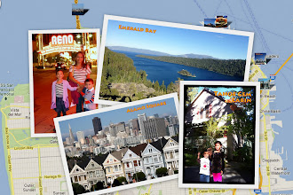 Photo: Here's a nice overview of the places we saw and things we did in the Golden State. The title of each picture denotes which album it's from.