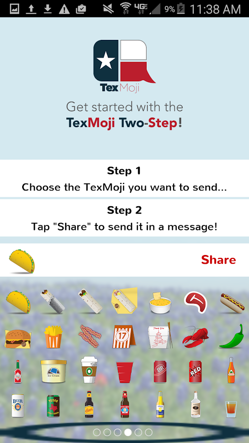 TexMoji- screenshot