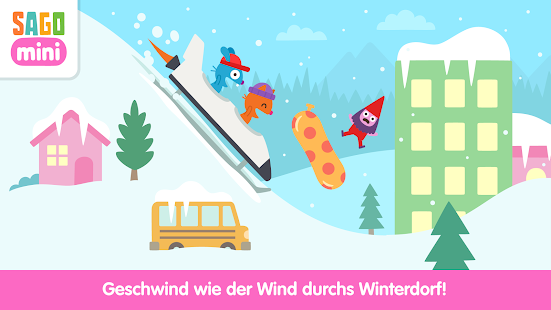 Sago Mini-Schneetag Screenshot