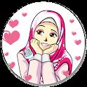 Best Sticker Cute Hijab Islamic - WAStickerApps icon