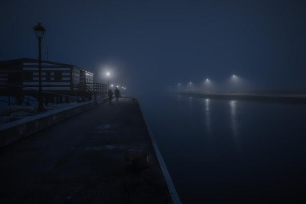 Una fredda sera invernale di Alessandro Alessandri
