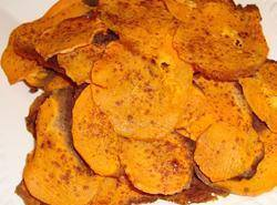 Cinnamon Sweet Potato Chips Recipe