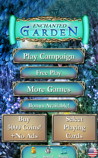 Solitaire: Enchanted Garden