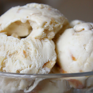Banana Cajeta Cashew Ice Cream