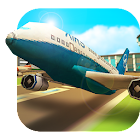 Airport Craft: Fly Simulator Boys Craft Building icon