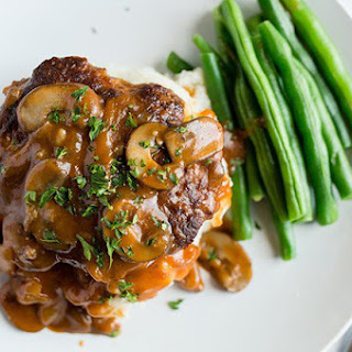 Lightened-Up Salisbury Steak Recipe