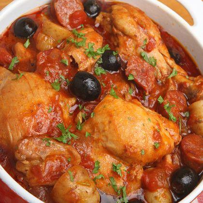 10 best crock pot spanish chicken recipes forumfinder Images
