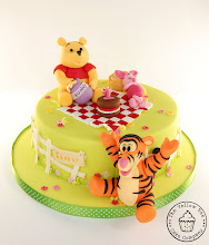 Photo: Pooh Cake by The Yellow Bee Cake Company (6/17/2012) View cake details here: http://cakesdecor.com/cakes/18743