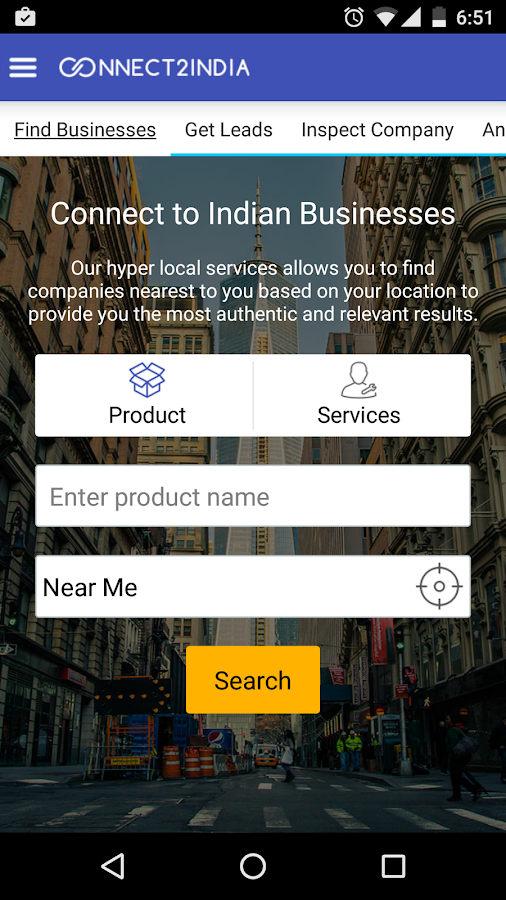 Connect2India- screenshot