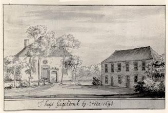 Photo: 1694 Het Hooghuis van Gageldonk in  Hage