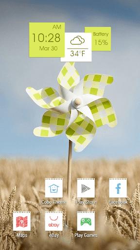 秋季現場風車主題