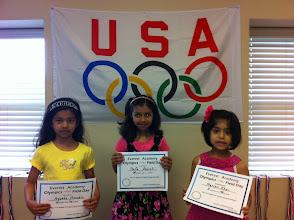 Photo: Hula Hoop Safa (1st) Ayesha (2nd) Mariam (3rd)