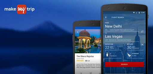 MakeMyTrip-Flights Hotels Cabs app (apk) free download for Android/PC/Windows screenshot