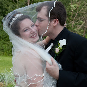by Amanda Kifer - Wedding Bride & Groom