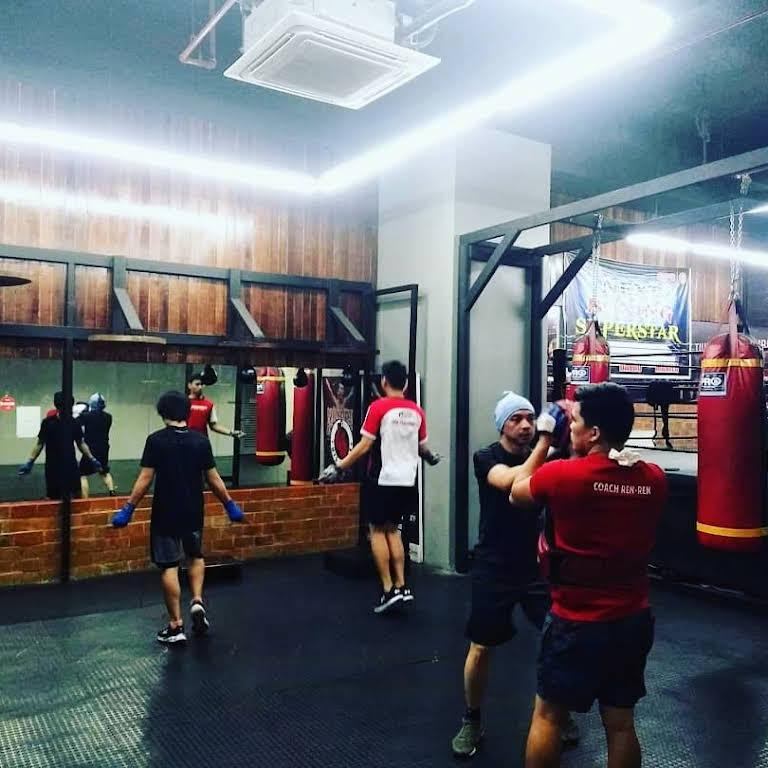 Penalosa Boxing Gym - Araneta Center - Newly opened boxing