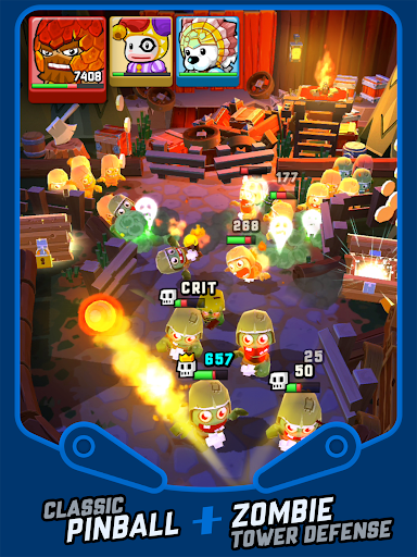 Zombie Rollerz - Pinball Adventure screenshot 9
