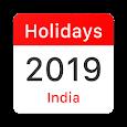 India Bank Holidays 2019