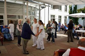 Photo: Vorbildlich engagiertes Pflegepersonal!