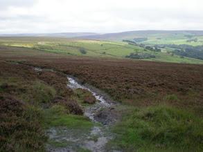 Photo: Moorland between Colden and Graining Water