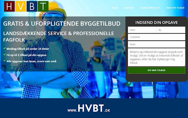 HVBT - Indhent uforpligtende byggetilbud