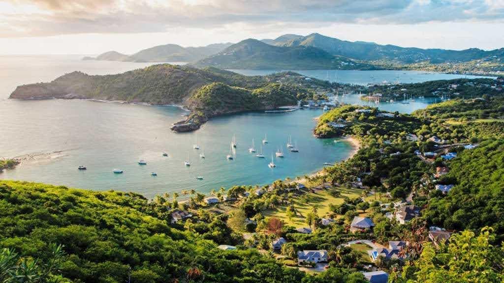 Isla Antigua (Caribe)