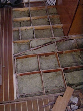 Photo: Insulation in floor saloon