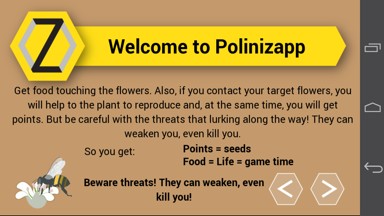 Polinizapp- screenshot